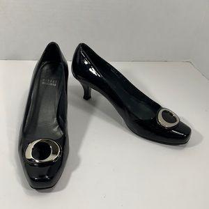 Stuart Weitzman black patent leather heels